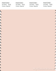 PANTONE SMART 12-1209X Color Swatch Card, Soft Pink