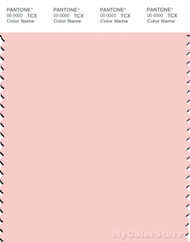 PANTONE SMART 12-1212X Color Swatch Card, Veiled Rose