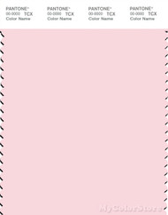 PANTONE SMART 12-2906X Color Swatch Card, Barely Pink