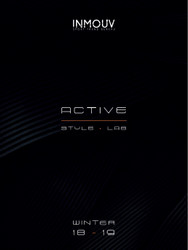 Inmouv - Active Sport Fashion A/W 2018/19, Trend Forecast for Activewear