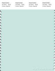 PANTONE SMART 12-5408X Color Swatch Card, Moonlight Jade