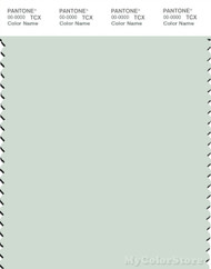 PANTONE SMART 12-6205X Color Swatch Card, Milky Green