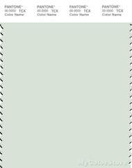 PANTONE SMART 12-6206X Color Swatch Card, Fairest Jade