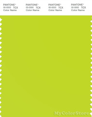PANTONE SMART 13-0550X Color Swatch Card, Lime Punch