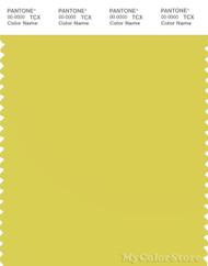 PANTONE SMART 13-0648X Color Swatch Card, Sulphur Yellow