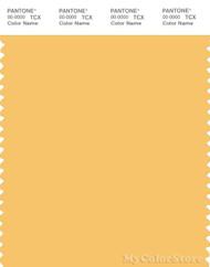PANTONE SMART 13-0940X Color Swatch Card, Sunset Gold