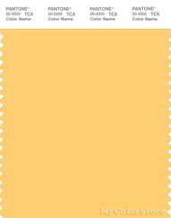 PANTONE SMART 13-0941X Color Swatch Card, Banana Cream