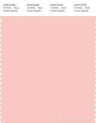 PANTONE SMART 13-1513X Color Swatch Card, Gossamer Pink