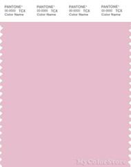 PANTONE SMART 13-2805X Color Swatch Card, Pink Mist