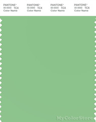 PANTONE SMART 14-0127X Color Swatch Card, Brilliant Green