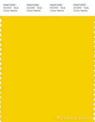 PANTONE SMART 14-0756X Color Swatch Card, Empire Yellow