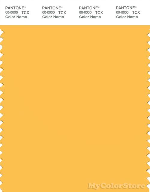 pantone smart 14-0850 tcx color swatch card | pantone daffodil