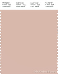 PANTONE SMART 14-1310X Color Swatch Card, Cameo Rose
