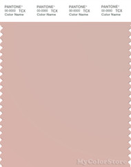 PANTONE SMART 14-1506X Color Swatch Card, Rose Smoke