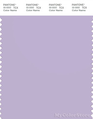PANTONE SMART 14-3812X Color Swatch Card, Pastel Lilac