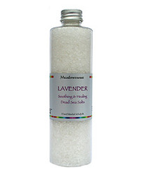 Meadowsweet Lavender Soothing and Healing Bath Salts (300g)