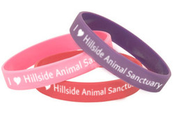 Hillside Animal Sanctuary Wristbands x 5