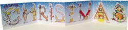 Hillside Doggy Letters Christmas Cards (DL2)