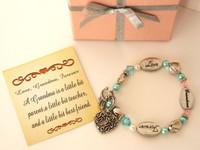 Bracelet reads 'Forever Love Grandma'