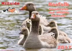 Hillside 2017 Countryside and Wildlife Calendar