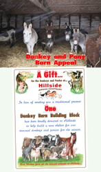 Donkey Barn Building Block Appeal