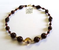 Retro china bead necklace [5]