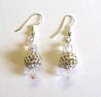 Diamante and Crystal Earrings [19]