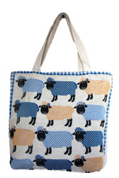 Sheep Tapestry Effect Tote Bag