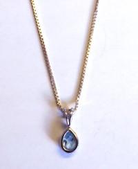 Topaz Sterling Silver Necklace [24]