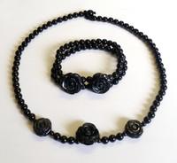 Lola Rose Onyx Necklace & Bracelet Set [27]