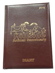 Hillside 2018 Desk Diary