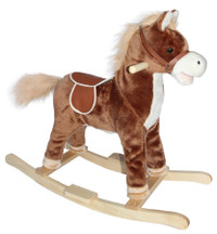 Neighing Rocking Horse (Brown)