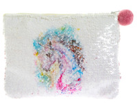 Unicorn Sequin Purse/Make up Bag