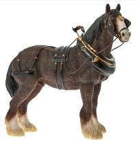 Large Shire Horse Ornament