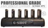 6-Shot Slim Charger for Sonim XP5