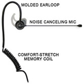 Comfit® Noise Canceling Boom Microphone for Sonim XP5s & XP8 Phones