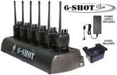 6-Shot Slim 6-Unit Battery Charger for all popular radios