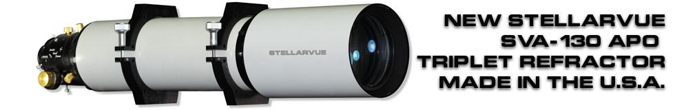 Stellarvue's new SV130 Apo