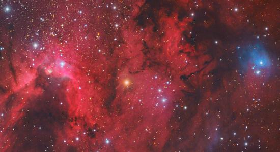 Cave Nebula by Tony Hallas