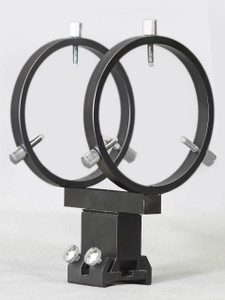 "80 mm Finder Rings - Mounts to 2.5"" - 3.5"" Feather Touch Focusers - R080FA"