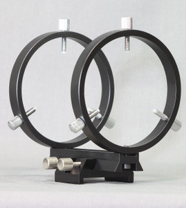 80 mm Finder Rings - Mounts to Schmidt-Cassegrains - R080ST