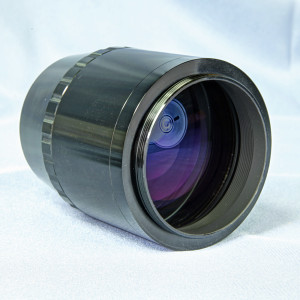 """Large photographic field flattener for 2.5"""" focusers - 48 mm attachment"""