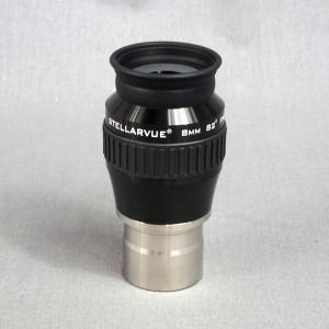 "Stellarvue 8 mm Ultra Wide Angle 1.25"" Eyepiece - EUW-08.0"