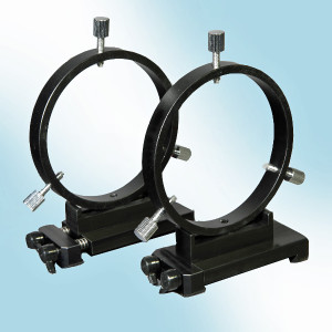 R95L guidescope rings for Losmandy sized rail
