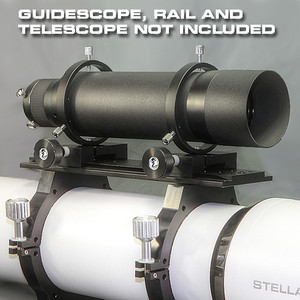 R95LV Guidescope rings for F80 Finderscope mounts on  Losmandy or Vixen sized rail