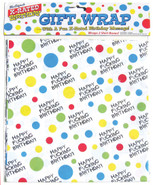 X-Rated Birthday Party Gift Wrap Paper