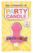 Make A Wish And Blow! Penis Candle