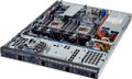 1U Custom Server Supports Dual Intel® Xeon® processor E5-2600 & 2600 V2 family CPUs