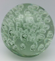 Clear Glass with Bubbles