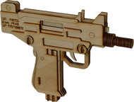 Uzi Laser Cut Model Kit